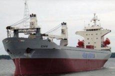 statek, z którego porwani zostali polscy marynarze.