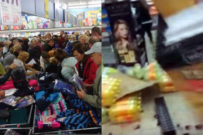 Promocje w sklepach Lidla znowu doprowadziły wielu klientów do szalonych zachowań...