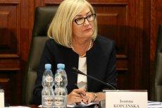 Jeszcze niedawno Joanna Kopcińska zasiadała w komisji śledczej badającej sprawę Amber Gold