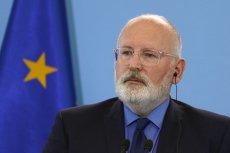 Frans Timmermans dostał zielone światło dla swoich działań w stosunku do Polski. Wiceszef KE uznał, że Polska nie robi nic, by przestać łamać unijne prawo.