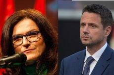 Aleksandra Dulkiewicz i Rafał Trzaskowski – oni najbardziej ostatnio wyrastają na gwiazdy opozycji.
