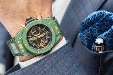 Hublot Big Bang w wersji zielonej, czyli bardzo modnej