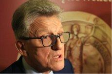 Stanisław Piotrowicz wyszedł zadowolony z Pałacu Prezydenckiego. Coraz bliżej porozumienia w sprawie ustaw sądowych.