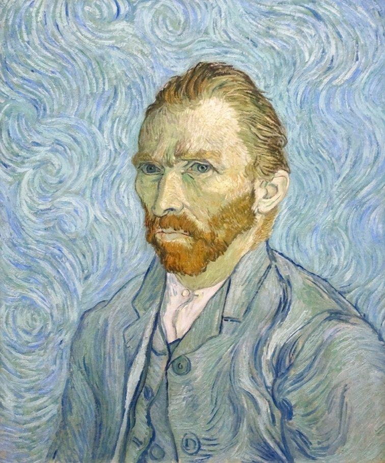 Vincent van Gogh, Autoportret, Wrzesień 1889, Musée d'Orsay, Paryż