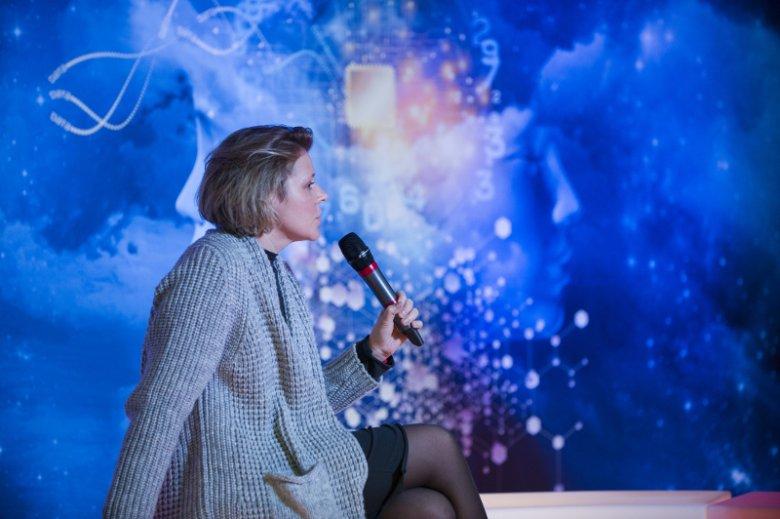 """Paulina Wilk, pisarka i publicystka,  autorka książki """"Pojutrze. O miastach przyszłości''"""