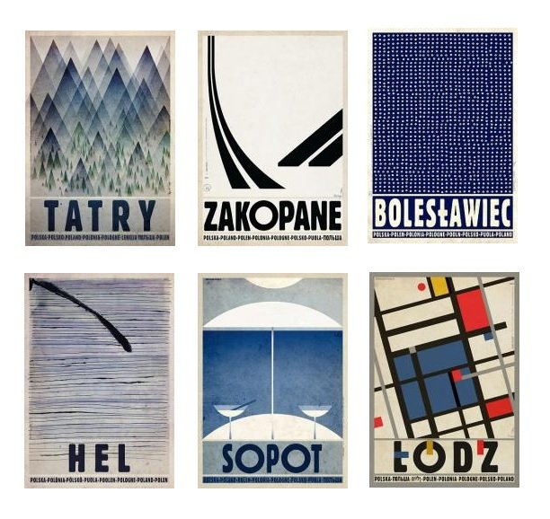 Plakaty Ryszarda Kaji