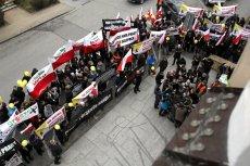 Protest i późniejsze konsultacje zgromadziły około 100 kupców.