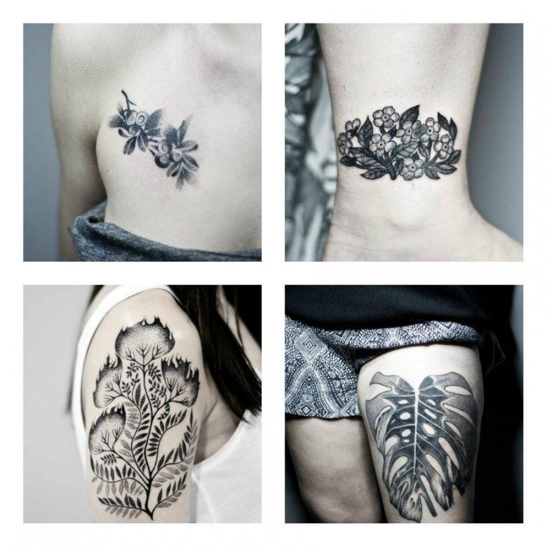 Wybrane prace tatuującej w Katowicach Bianki Szlachty