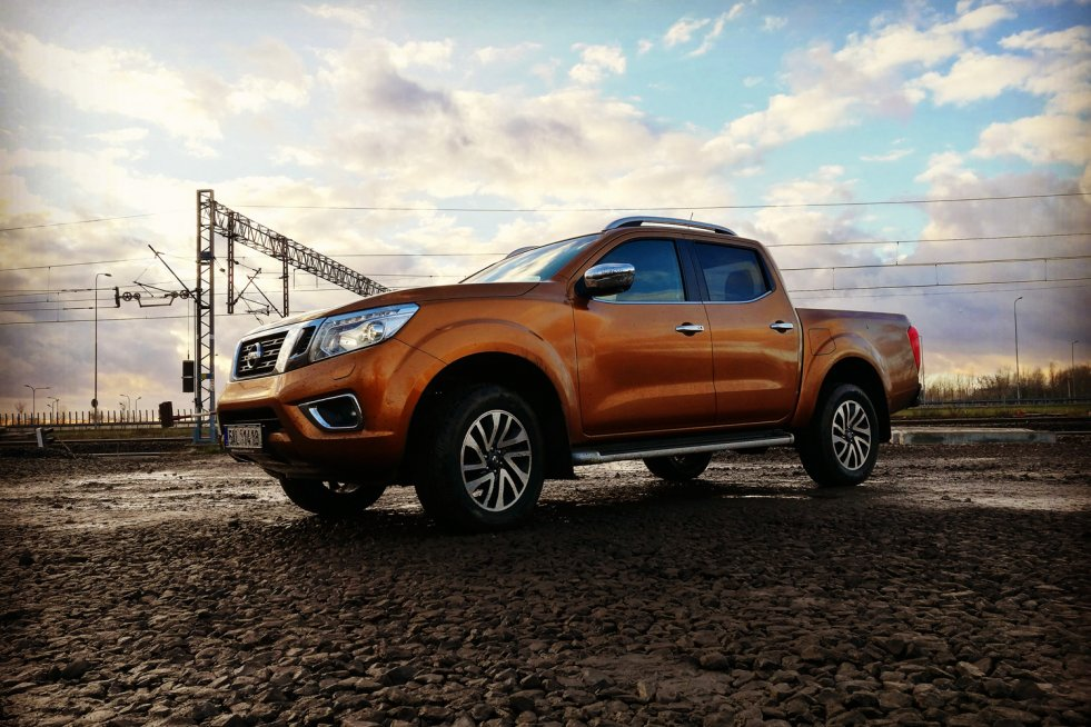 Nissan Navara to wyjątkowo ładny pick-up.