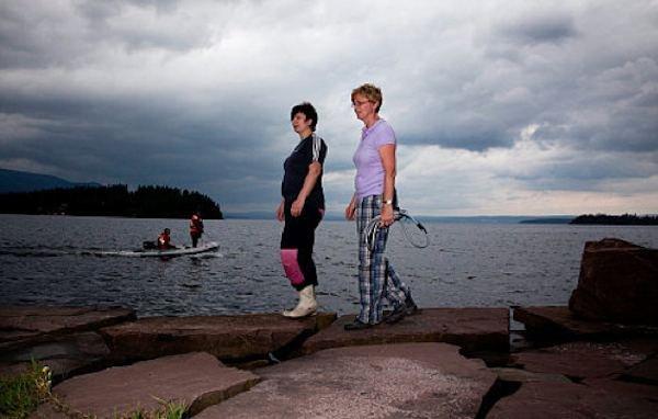 Hege Dalen i Toril Hansen.