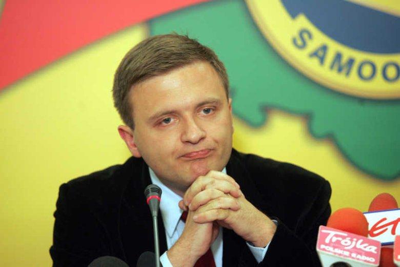 Mateusz Piskorski, były poseł Samoobrony, twierdzi, że referendum na Krymie było zgodne z prawem