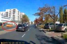 BMW, które potrąciło 33-letniego mężczyznę, obróciło się.