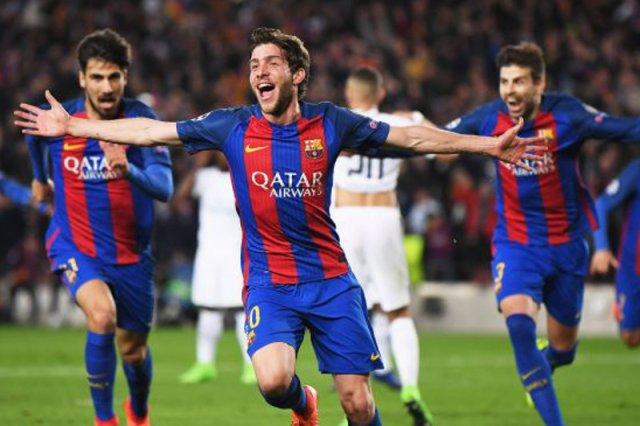 FC Barcelona po wygranej z PSG awansuje do ćwierćfinału Ligi Mistrzów.