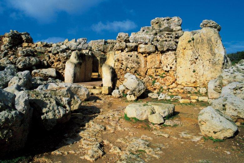 Kompleks świątynny Ġgantija na wyspie Gozo