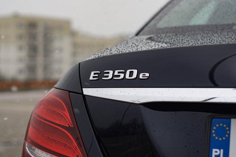 E350e to hybryda.
