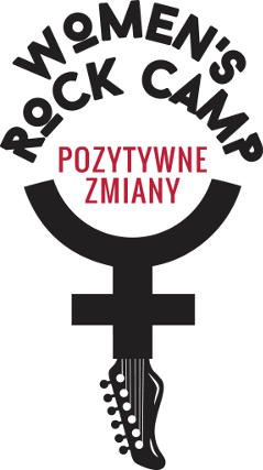 Logo obozu Women's Rock Camp.
