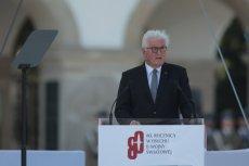 Stoję dzisiaj przed polskim narodem bosy – mówił w Warszawie Frank-Walter Steinmeier.