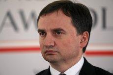 Zbigniew Ziobro zapowiadał walkę z przepisem, według którego ukarana drukarza z Łodzi. Słowa dotrzymał.