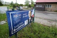 Jeden głos oddany na Joachima Brudzińskiego kosztował podatników niemal 4 zł.