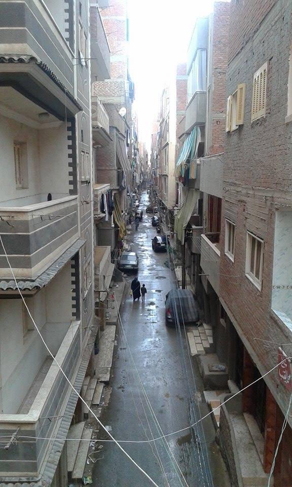 ulica w przemysłowym mieście Mahalla