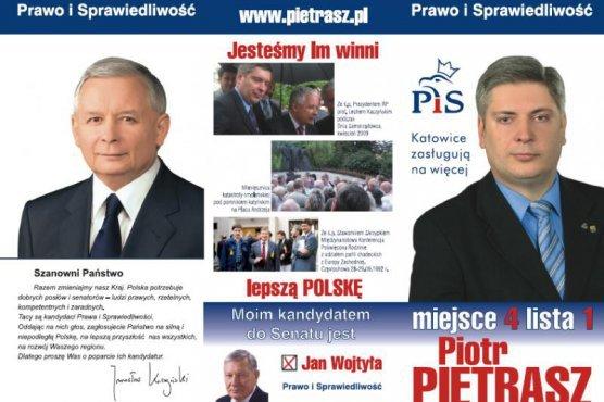 Piotr Pietrasz w 2015 startował do Sejmu z listy PiS.