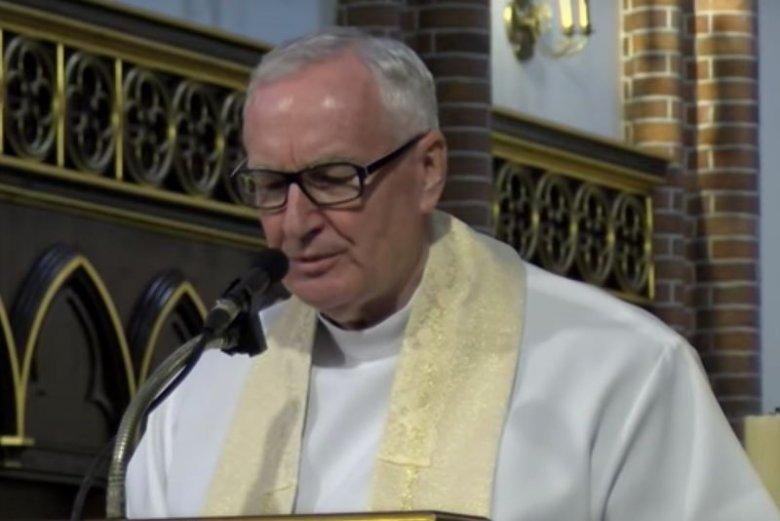 Ksiądz profesor Edward Staniek wygłosił kazanie, w którym życzył papieżowi Franciszkowi śmierci.