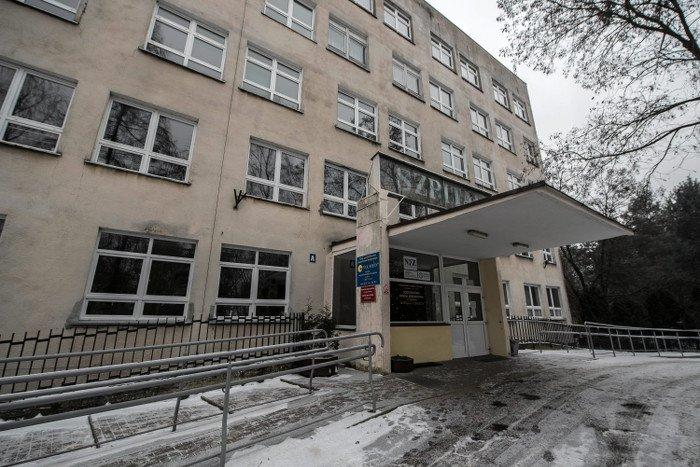 Szpital w Sycowie.