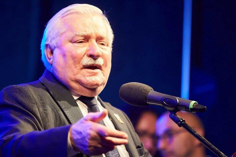 """Lech Wałęsa chce pozwać IPN za """"teczki Kiszczaka""""."""