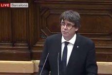 Katalonia nie ogłasza niepodległości. Decyzja została odłożona na kilka tygodni, premier zaprasza do mediacji.