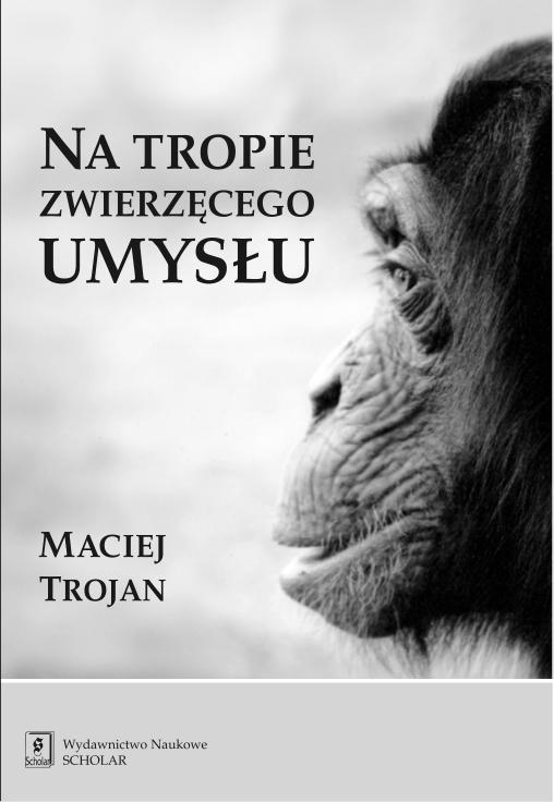 Okładka Na tropie zwierzęcego umysłu.