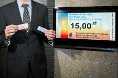 Kościół chciał, żeby władze Krakowa płaciły za użycie logotypu ŚDM na promocyjnych biletach.