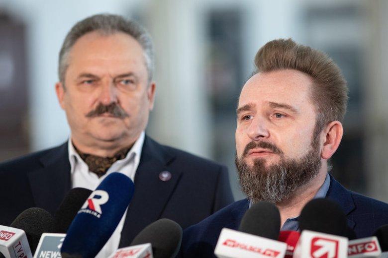 Marek Jakubiak i Piotr Liroy-Marzec odchodzą z Konfederacji.