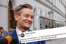Robert Biedroń wytknął redaktorowi Lisiewiczowi niewiedzę.