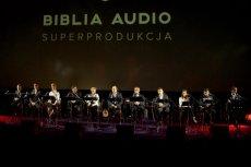 """Koncert """"Biblia Audio Live"""", gdzie znani polscy aktorzy odczytywali przy towarzyszącej oprawie dźwiękowej wybrane fragmenty Biblii"""
