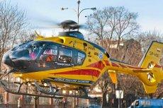 26-latkę w stanie ciężkim helikopterem przetransportowano do szpitala. Zdjęcie ilustracyjne.