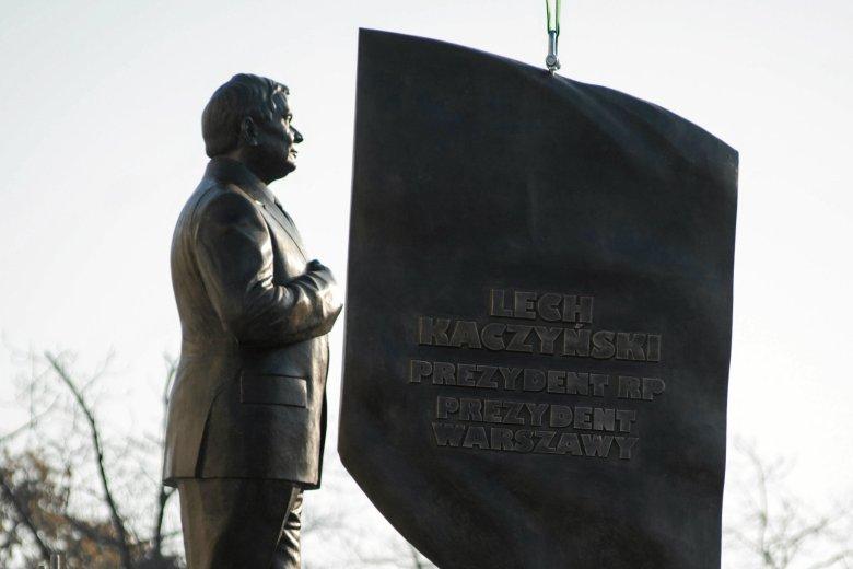 Pomnik Lecha Kaczyńskiego to plagiat?