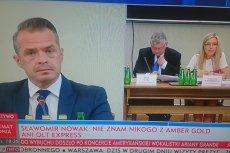 Minister Nowak był zaskoczony problemami przewodniczącej komisji.