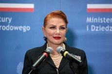 """Georgette Mosbacher powiedziała, że """"niemalże wstydzi się, że Polska wciąż musi ubiegać się o wizy""""."""