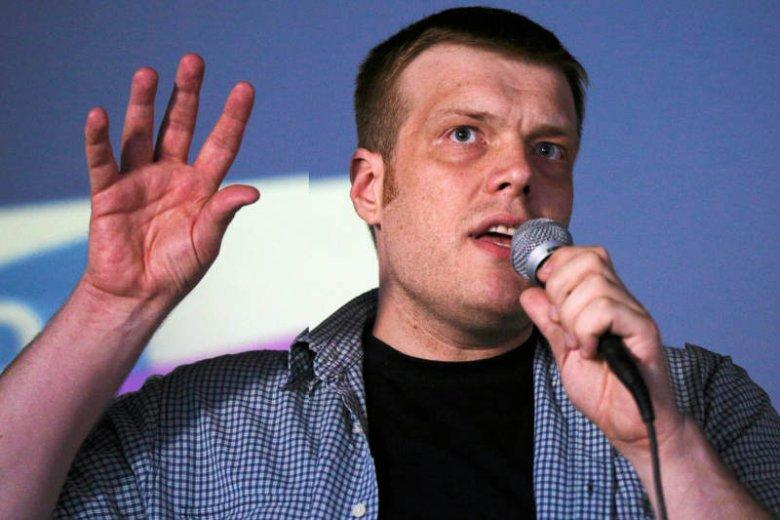 Adrian Zandberg w lipcu 2015 r.