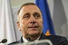 Grzegorz Schetyna krótko podsumował wystąpienie Jarosława Kaczyńskiego.