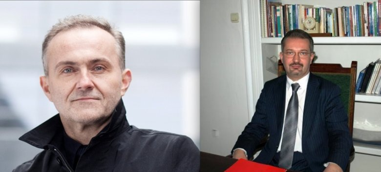 Z lewej: prezydent Gdyni Wojciech Szczurek. Z prawej: burmistrz Cieszyna Mieczysław Szczurek. fot. Materiały prasowe