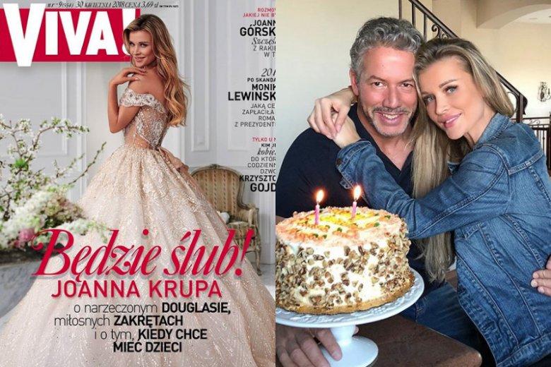 Joanna Krupa u boku nowego partnera odnalazła szczęście i poczucie bezpieczeństwa. Po raz pierwszy tak szczerze mówi o marzeniach związanych z rodziną.