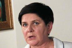 Beata Szydło nie wiedziała co ma odpowiedzieć na pytanie dziennikarza PR24.
