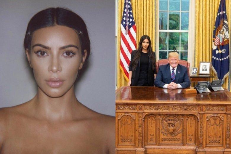Kim Kardashian i Donald Trump w Gabinecie Owalnym? Dlaczego Prezydent USA spotkał się z gwiazdą reality show?