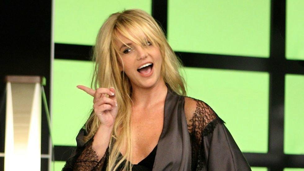 """Kadr z teledysku """"Womanizer"""" Britney Spears"""
