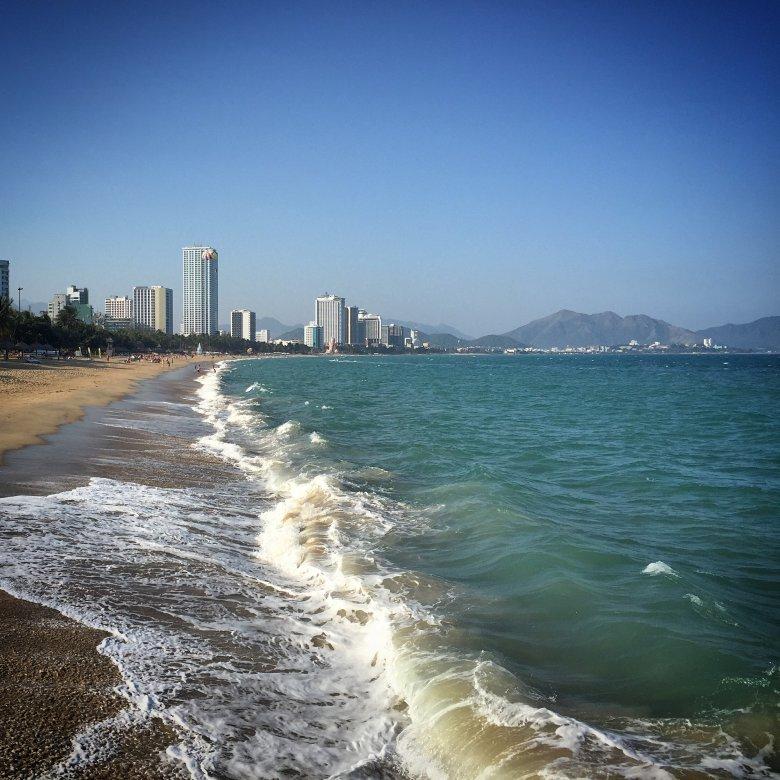 Plaża miejska w Nha Trang