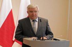 Kazimierz Kujda, obecny prezes Narodowego Funduszu Ochrony Środowiska i Gospodarki Wodnej.