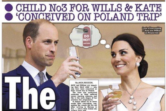 Dziecko pary książęcej mogło zostać poczęte w Polsce, spekulują brytyjskie tabloidy.