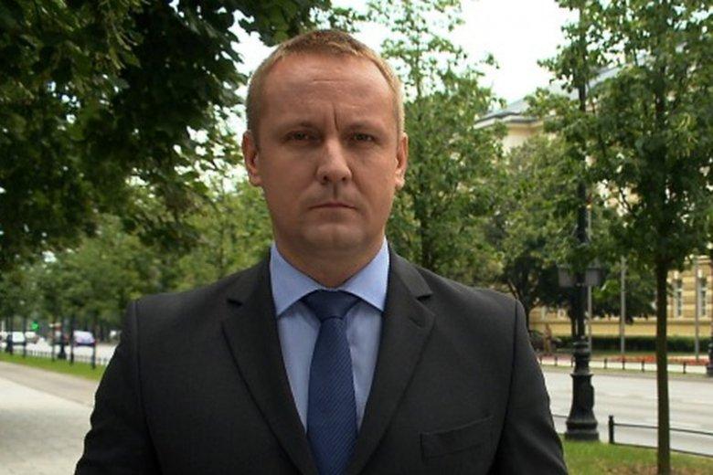 Jakub Sobieniowski - dziennikarz polityczny TVN.