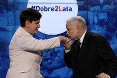 Niektórzy prawicowi publicyści twierdzą, ze konferencja z okazji dwulecia rządu była jednocześnie pożegnaniem premier Szydło